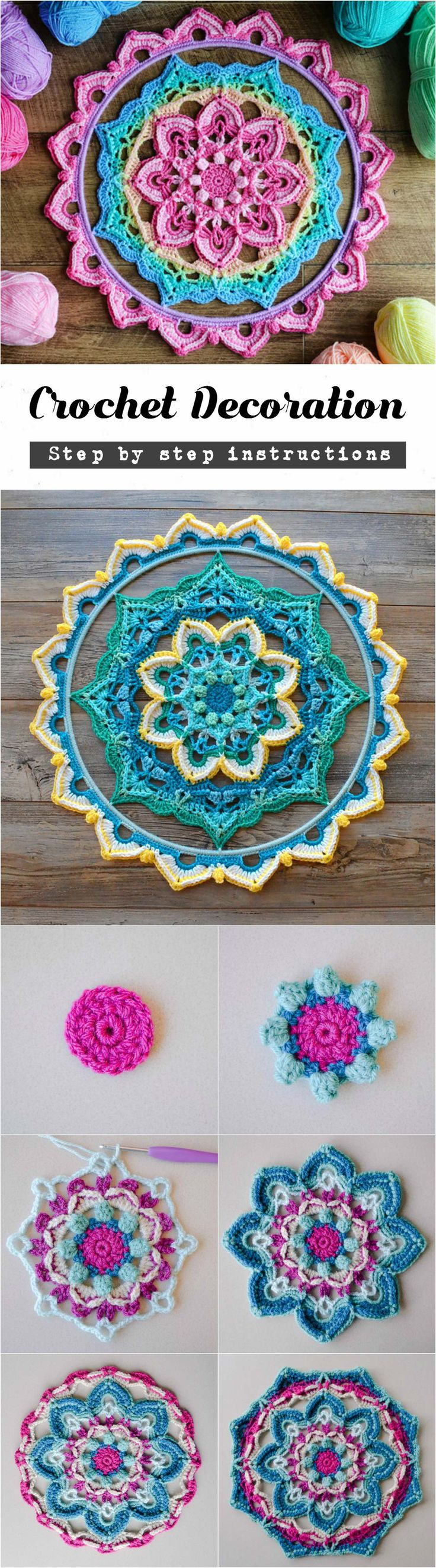 Crochet Wall Decoration