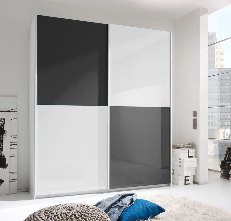Der #moderne #Schwebetürenschrank #SMART ist ein echter #Blickfang für jedes #Schlaf- oder #Jugendzimmer. Dieser schönen italienische #Design-Kleiderschrank hat einen stabilen Korpus in weiß Melamin geriffelt. Durch die große Farbauswahl passt sich dieser Schwebeschrank genau Deinem #Schlafzimmer an. Die Fronten in #Hochglanz lackiert können beliebig angeordnet werden.Viele optionale Erweiterungen verfügbar! #schnappermoebel #holdirdeinenschnapper