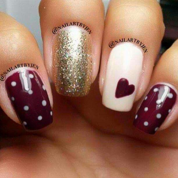 Classy and simple nails