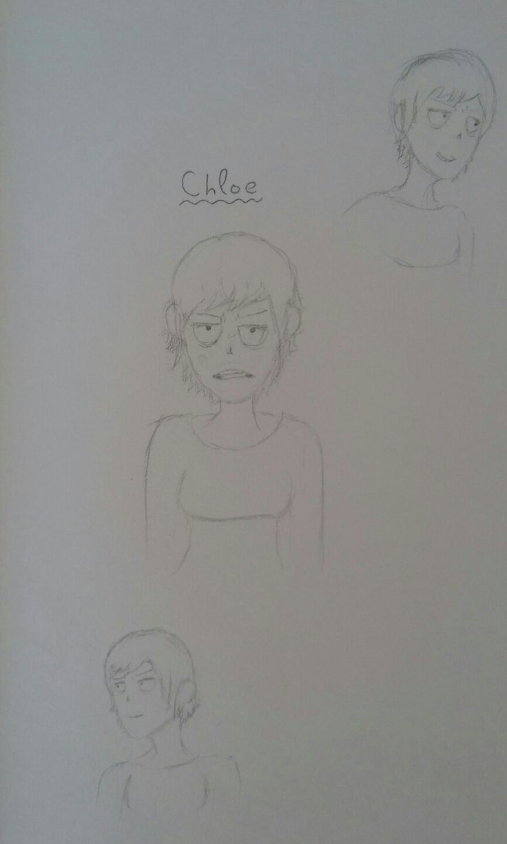 I made another new OC, Chloe ^^ /// By Let's Panic