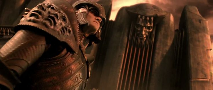 Chronicles of Riddick. Lord Marshal. Necromonger architecture