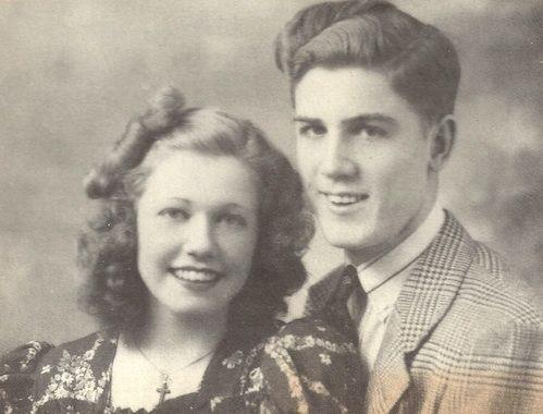 Doris Mary Ann and brother Paul Kappelhoff.
