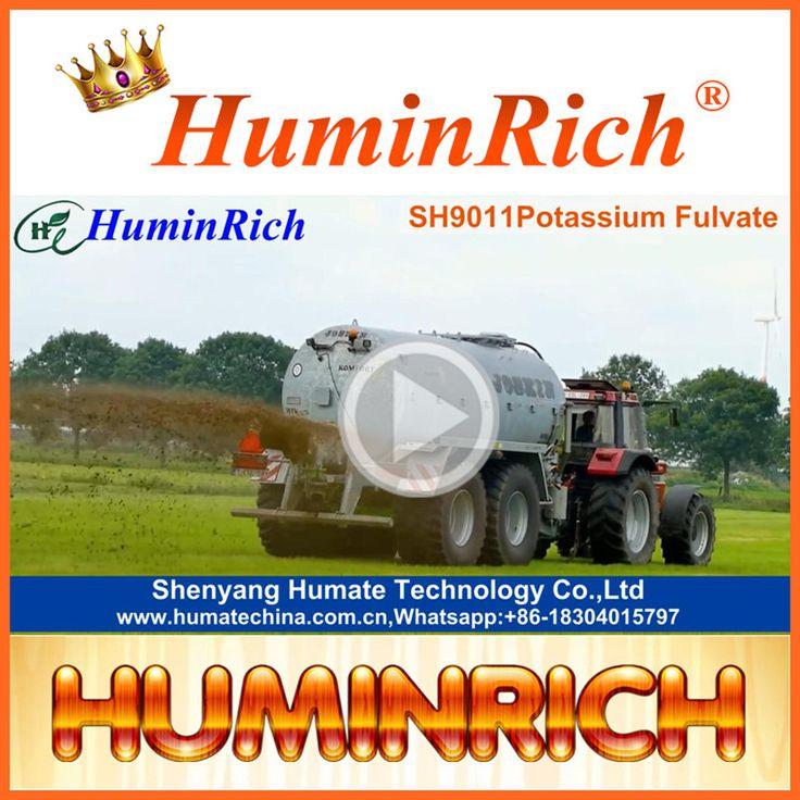 """HuminRich"" Modern Agriculture Organic Hydroponic Fertilizer Humate Fertilizer Fulvic Drip Irrigation Fertilizer"