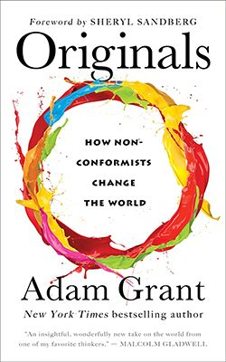 How can we originate new ideas, policies and practices without risking it all? Adam Grant shows how to improve the world by championing novel ideas and values that go against the grain, battling conformity, and …