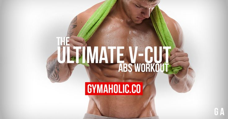 Ultimate V-Cut Abs Workout
