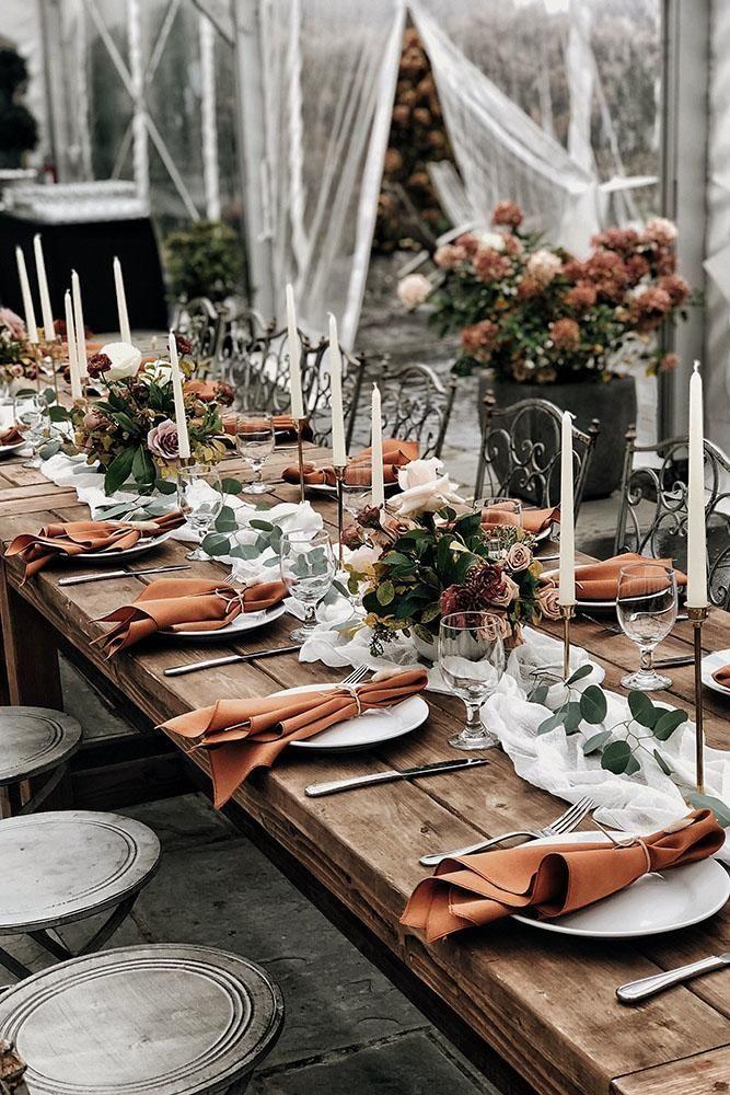 30 Rust Wedding Color Ideas Wedding Forward Burnt Orange Weddings November Wedding Orange Wedding