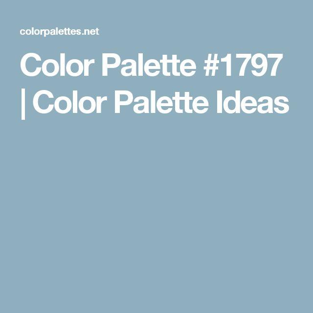 Color Palette #1797 | Color Palette Ideas