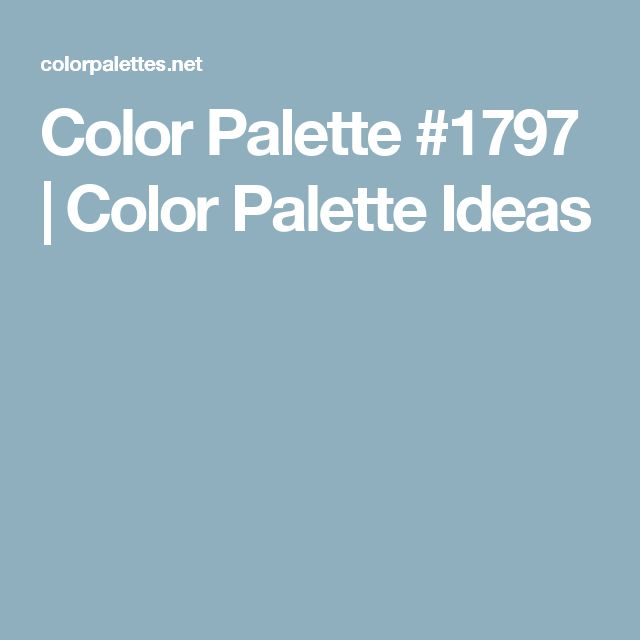 Color Palette #1797 | Color Palette Ideas