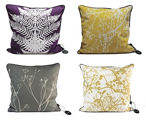 An assortment of cushions for the bed will give an eclectic feel. 1-2 printed cushions could be balanced with a textured cushion, and perhaps a bolster. COST-Cushions capped at between $10-20