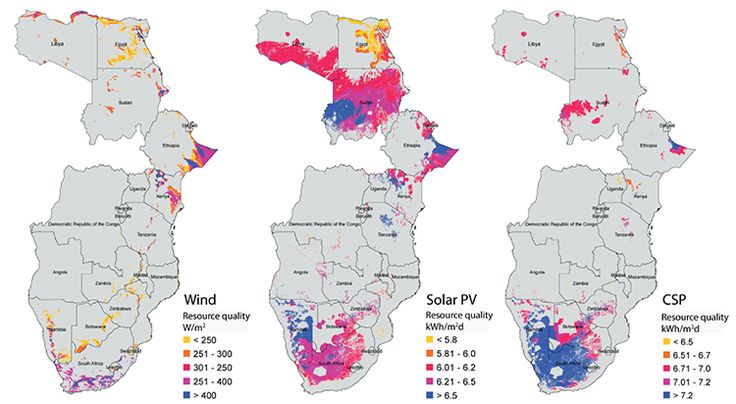 Researchers from the University of California Berkeley have mapped out what they believe to be a viable strategy for Africa to steadily increase its development of renewable energy sources like win…