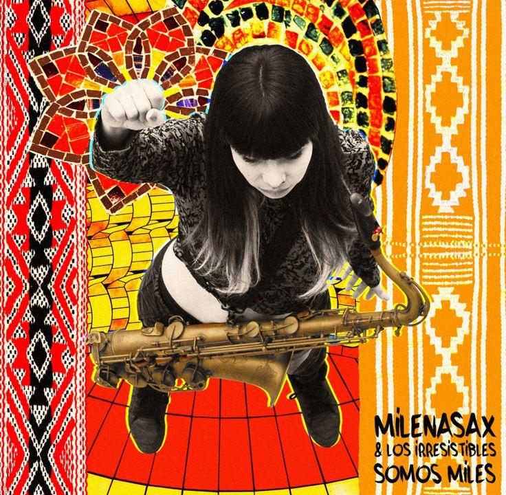 Carátula de mi 2do disco Somos Miles, junto a Los Irresistibles!