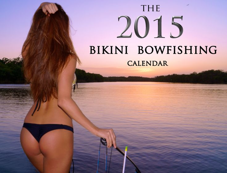 bikini bowfishing calendar-#4