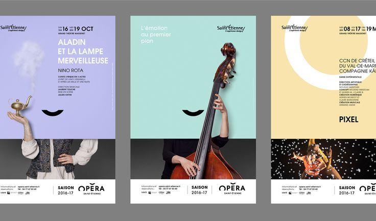 Saint-Étienne Opera House 2016 - Brand Design on Behance