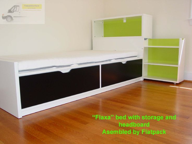 IKEA Flaxa Childs Bed Assembled In NW DC By Flatpack Assembly Service.  Www.flatpackservices