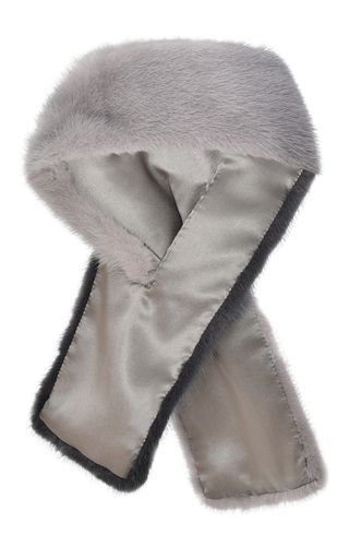 Degrade Mink Fur Scarf by BLUMARINE for Preorder on Moda Operandi