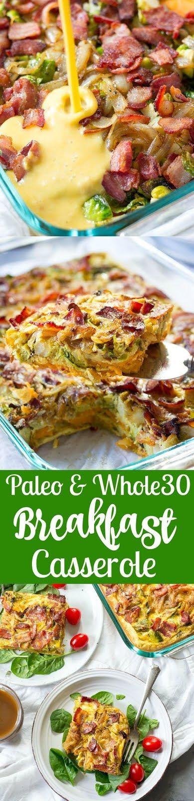 Paleo Breakfast Casserole (Whole30)
