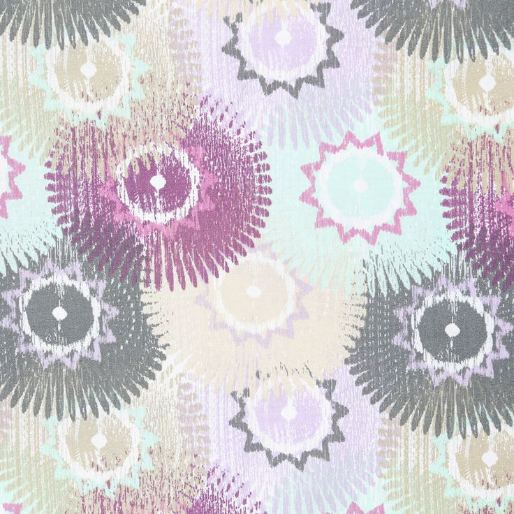 Absolutely cotton light purple medallion cotton fabric for Purple baby fabric