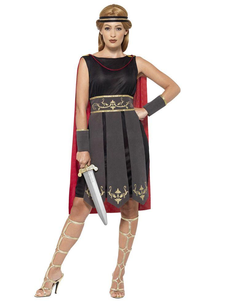 Gladiatorin Damenkostüm Antike Kriegerin schwarz-rot. Aus der Kategorie Karnevalskostüme / Antike Kostüme. Furchtlos stellt sich diese kampferprobte Gladiatorin jedem Gegner entgegen und überzeugt nicht nur mit ihrem Gladius durch eine besondere Schärfe im Nahkampf!