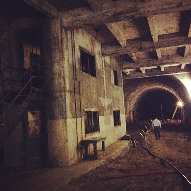 Abandoned Subway.: Building Downtown, Dtla Tunnels, The Angel, Terminator Building
