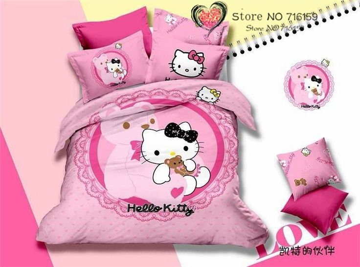 hello kitty bedding kid beds duvet cover sets bed sheets bedding sets bedspreads pillowcases twin hello