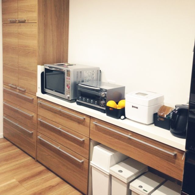 キッチン Dフロア アレスタ Fits ゴミ箱 などのインテリア実例