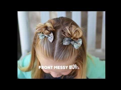 3 Quick And Easy Toddler Hairstyles For Beginners Youtube Quick