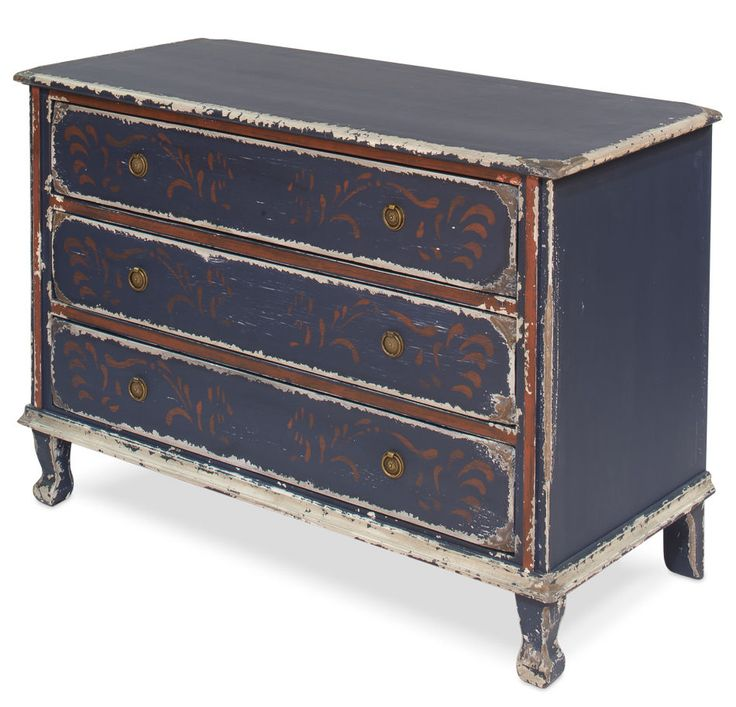 Chest of Drawers Table French Country Blue Handmade Old Reclaimed Woods New  #Handmade #FrenchCountry - 6021 Best French Reproduction Antiques Images On Pinterest Br