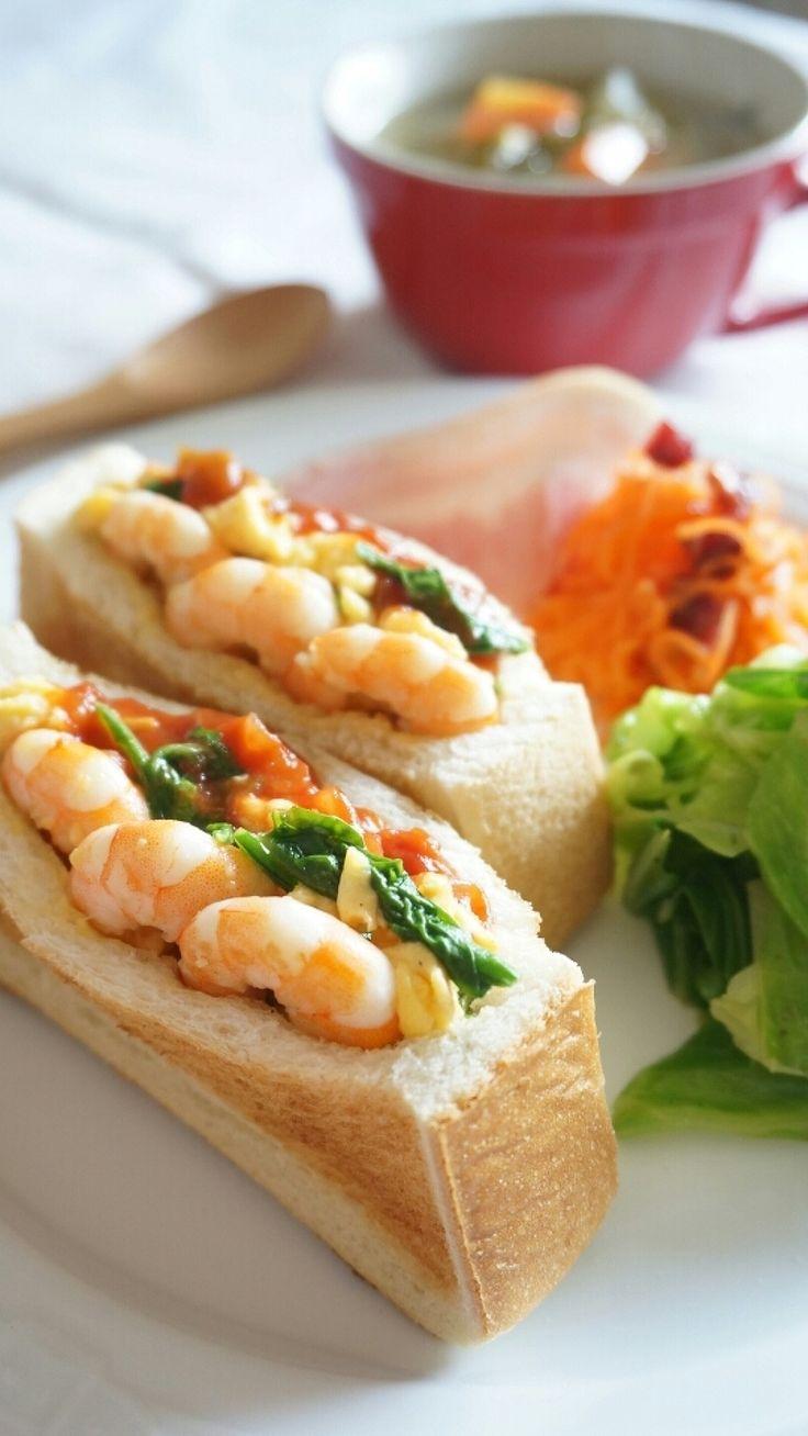 海老とルッコラと卵の、ポケットサンド by 本村 美子 | レシピサイト「Nadia | ナディア」プロの料理を無料で検索