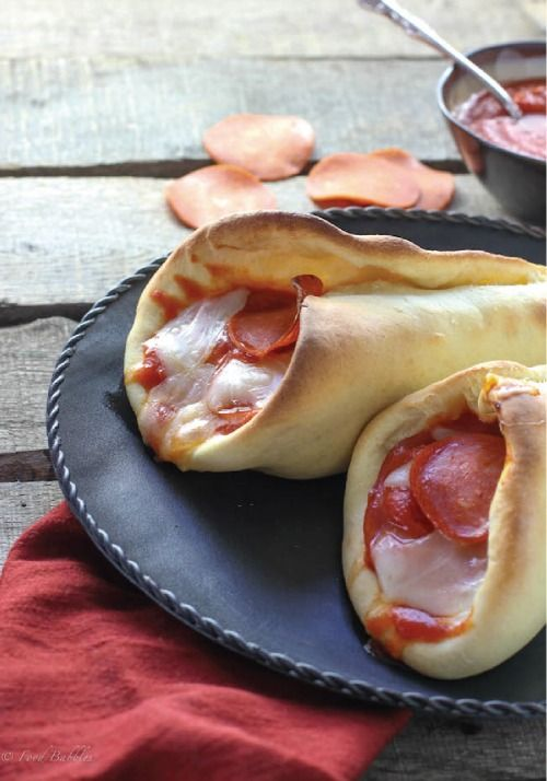These pepperoni pizza cones are such an easy lunch option-- a new family favorite.