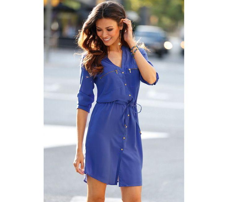 Propínací šaty s originálními detaily   vyprodej-slevy.cz #dress