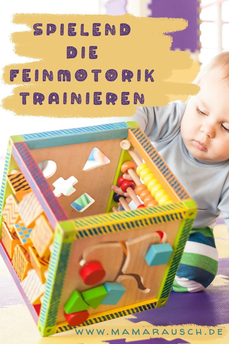 Feinmotorik! Die besten Spielzeuge für Kleinkinder und