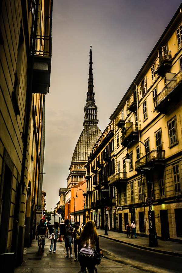 Street in Torino, Italy * , beautiful and I am seeing it this week