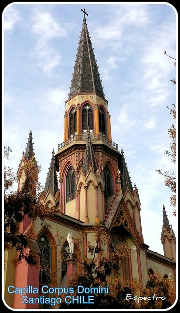 Iglesia Corpus Domini. Santiago de Chile