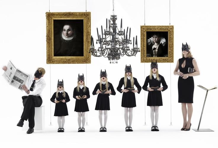 """Gérard Rancinan """"Batman Family (Girls)"""", 2012."""