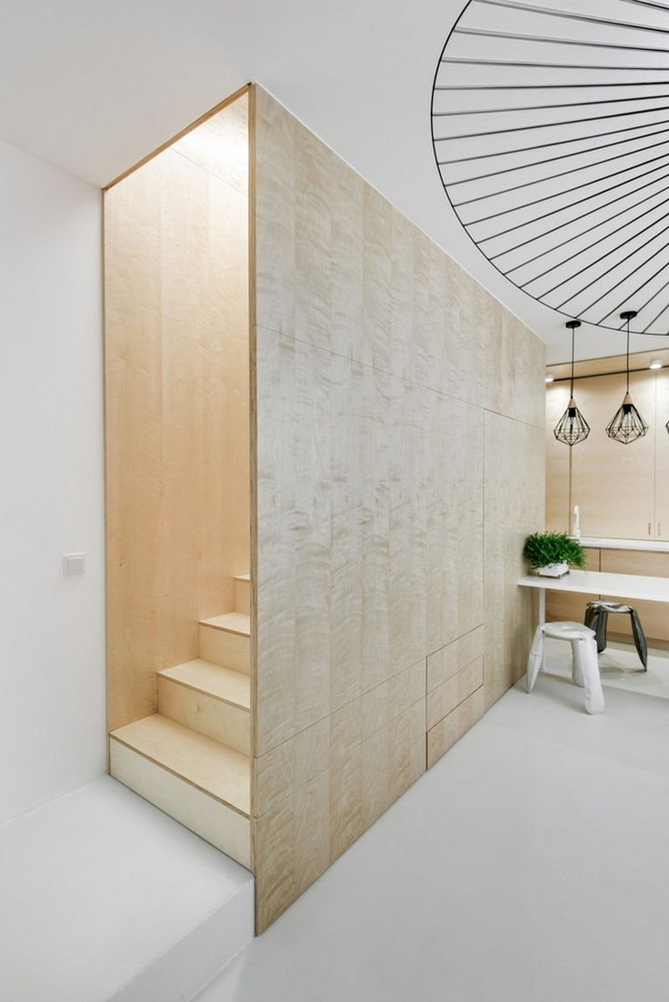 Small Duplex in Poland Unveils Ingenious, Functional Layout