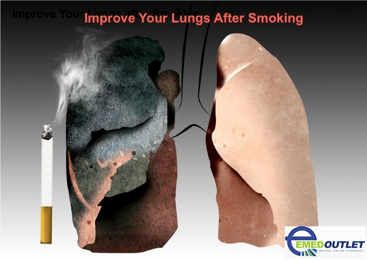 how to clean lungs after smoking cigarette