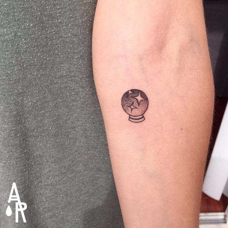 15 tiny witch tattoos that are pure magic