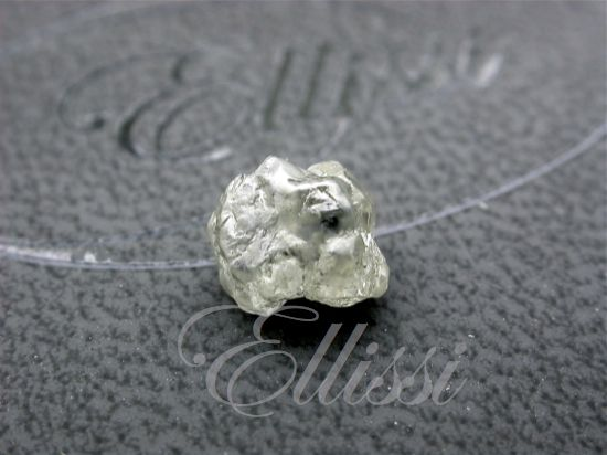 A bit of rough anyone? This is an uncut 1.50 ct #diamond - doesn't look like much - it needs a cutter's magic to bring out the sparkle.