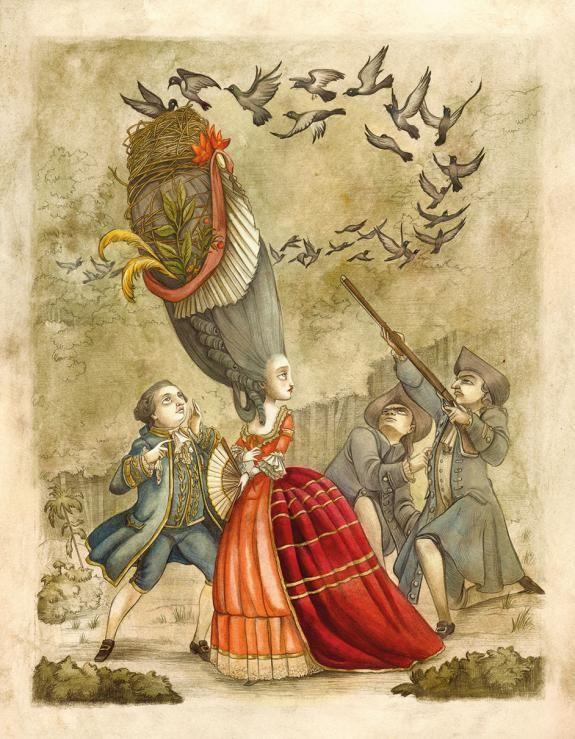 Benjamin Lacombe - Marie-Antoinette : Carnet secret d'une re