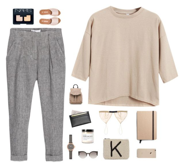 """madeline"" by blessing-sparkles ❤ liked on Polyvore featuring Chicnova Fashion, MANGO, rag & bone, Skagen, NARS Cosmetics, Royce Leather, Kaanas, Jean Yu, Shinola and Fig+Yarrow"