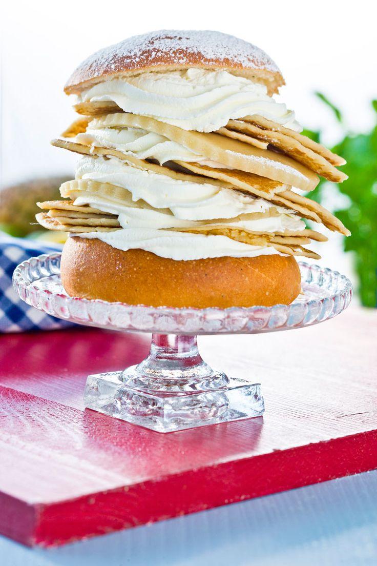 En pemla, semla i kombination med pannkakor, har du garanterat aldrig testat förut!