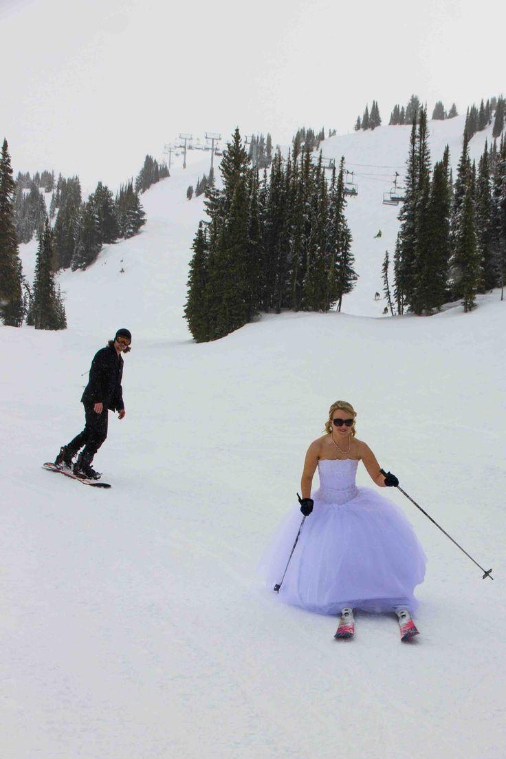 Ski Wedding | A Practical Wedding