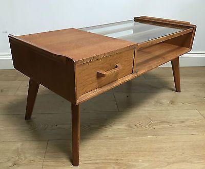 1950s G-PLAN 'BRANDON' OAK COFFEE TABLE - 60s 70s retro vintage mid-century