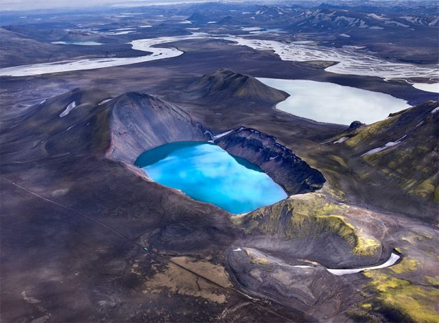 Aerial Photographs of Volcanic Iceland by Andre Ermolaev