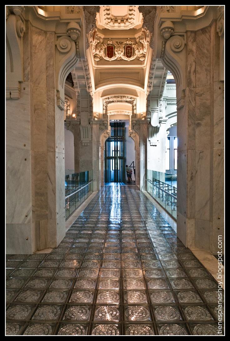 Palacio de Comunicaciones (interior). Actual sede del ayuntamiento de Madrid
