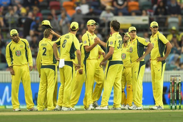 Australia VS Pakistan 1st ODI Brisbane Live Scorecard Update