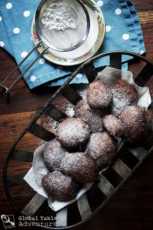 Coconut Banana Fritters fit for royalty.