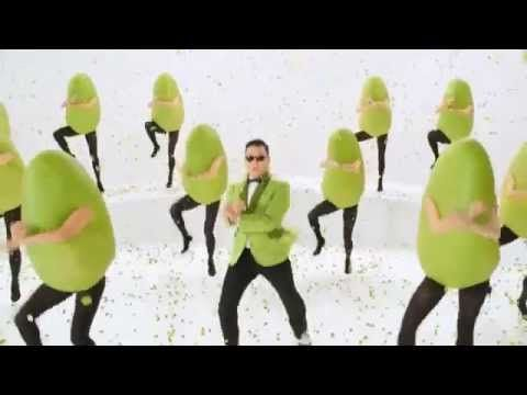 PSY Gangnam Style Super Bowl Commercial 2013 Wonderful Pistachios Get Crackin - YouTube