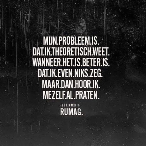#rumag mijn probleem