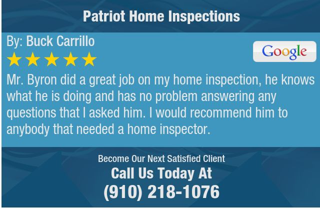 Mr. Byron did a great job on my home inspection, he knows what he is doing and has no...